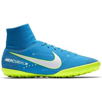 Nike JR Mercurialx VCTRY6 DF NJR TF - Zapatillas de fútbol Sala de Neymar Jr,