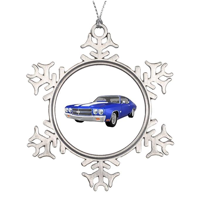 7th Gener Tree Decorating Ideas 1970 Chevelle Ss Blue Finish