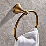 Znzbzt color antique bathroom hardware attached to ? brushed Bathroom Towel Ring Bathroom Wall Mounted towel rack