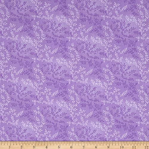 108' Wide Quilt Backing (Santee Print Works 108in Wide Back Tonal Vineyard Orchid Fabric By The Yard)