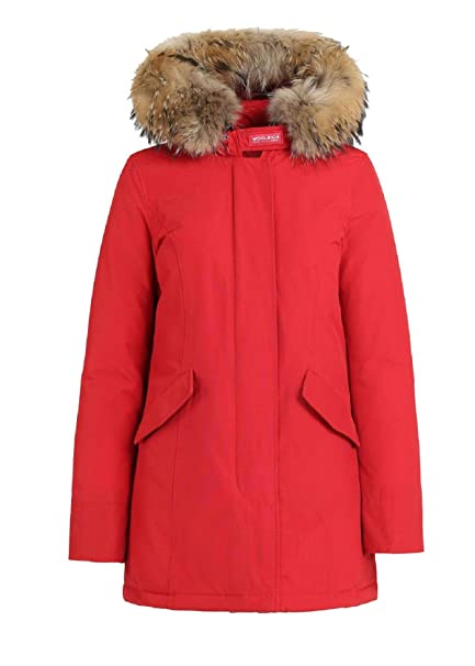 Woolrich Artic Parka FR CN02 Red  Amazon.it  Abbigliamento 743cdeeadb6