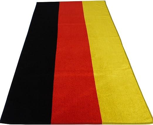 Toalla de baño con diseño de la bandera alemana, toallas de algodón: Amazon.es: Hogar