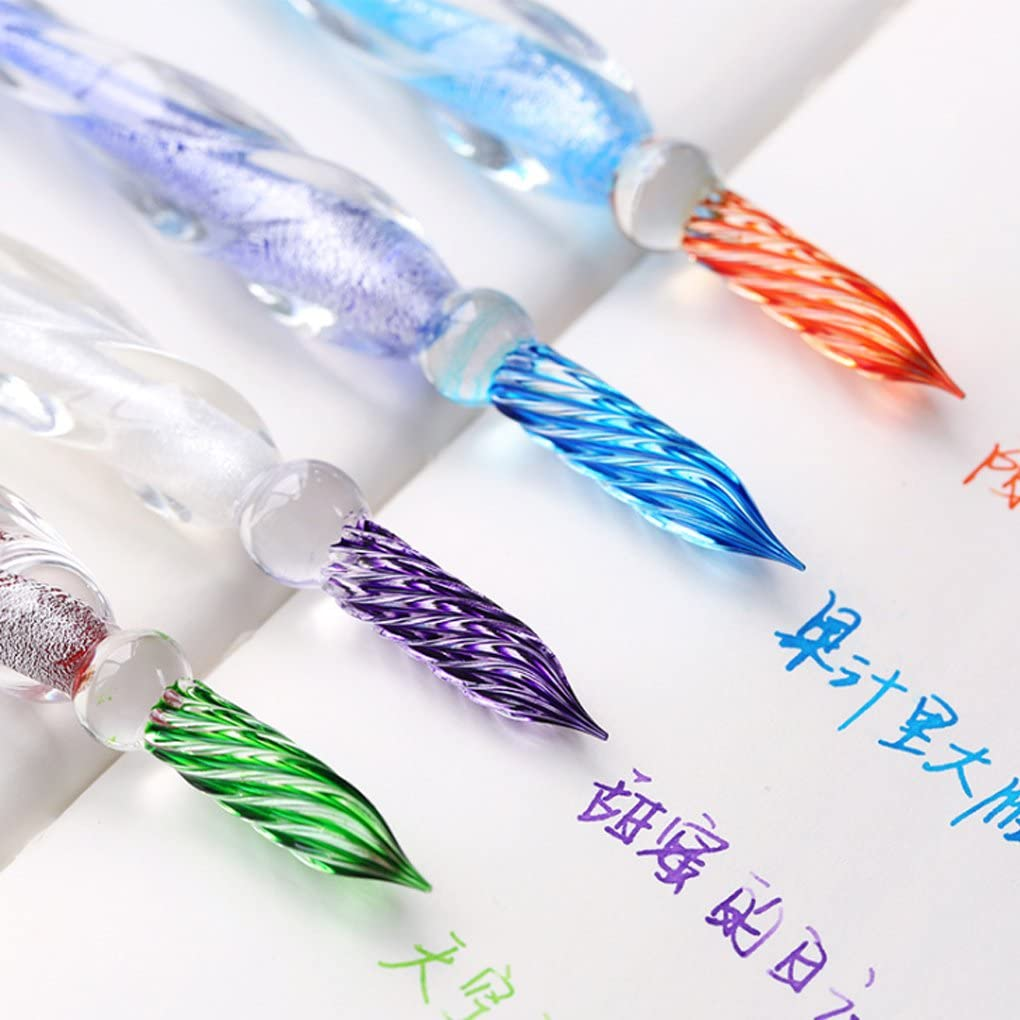 Dip Pen Writing School Supplies Signature Pen Non Carbon Painting Colored Ink