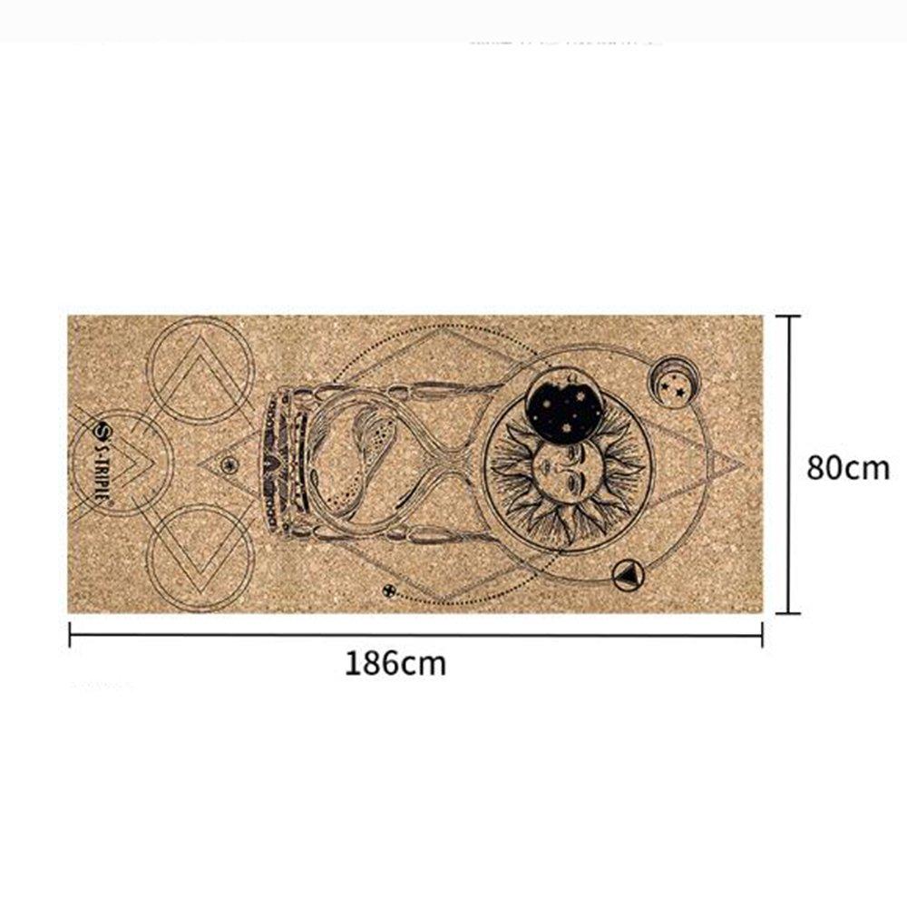 ANHPI Toalla De Yoga Toalla Antideslizante Gruesa Deportes Toalla De Playa Toalla Sudor Absorbente Yoga Estera (186 Cm X 80 Cm),A-186cm*80cm: Amazon.es: ...