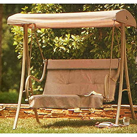 OPEN BOX 2-Person H&ton Bay Replacement Swing Canopy Top Cover & Amazon.com : OPEN BOX 2-Person Hampton Bay Replacement Swing ...