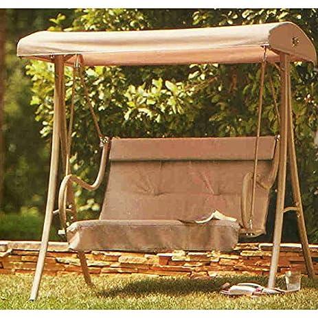 OPEN BOX 2-Person H&ton Bay Replacement Swing Canopy Top Cover & Amazon.com : OPEN BOX 2-Person Hampton Bay Replacement Swing ...