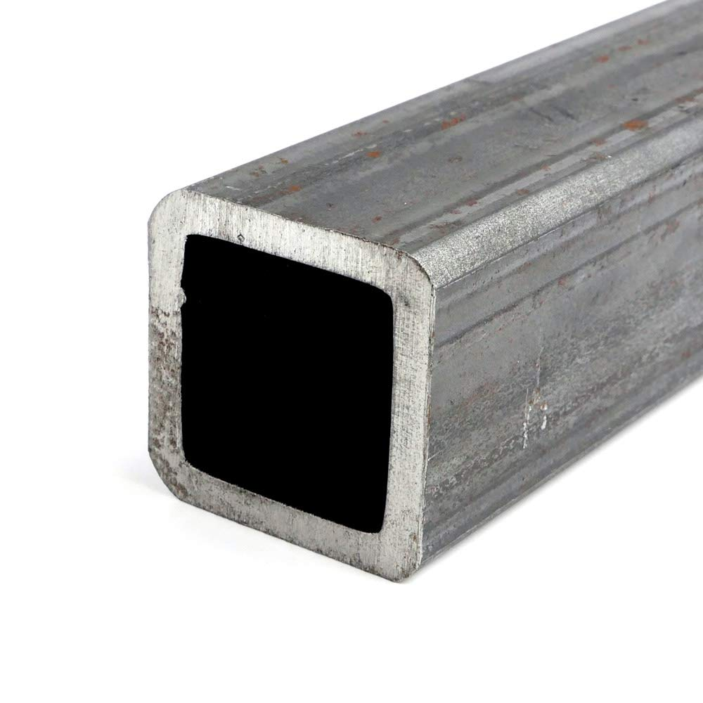 1.5 x 0.065 Mild Steel Square Tube A500//A513 Hot Rolled 48.0