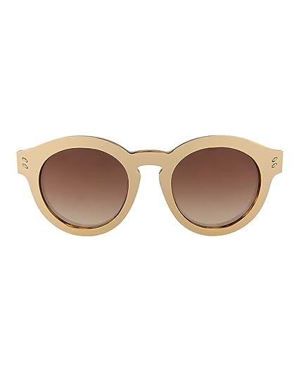 e002e906127bd Amazon.com  Stella McCartney Womens Round Oval Sunglasses SC0046SA ...