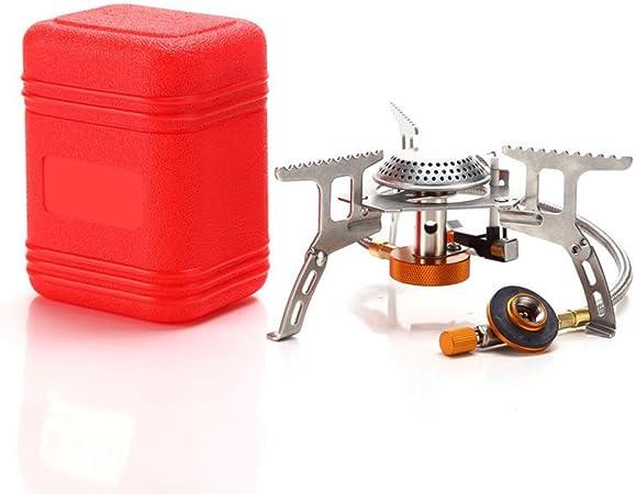 SPOTACT Al Aire Libre Compacto Camping Estufa De Gas Quemador De Horno De Mini Plegable Portátil Plegable Ligero Ideal - Batería De Cocina Para ...