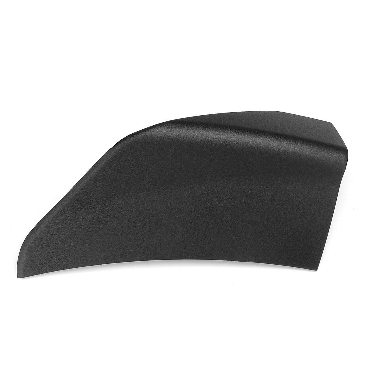 Carvicto For Ford For Mustang Front Chin Spoiler Winglets A Pair Matte Black Front Bumper Lip Front Chin Spoiler Winglets For 2015