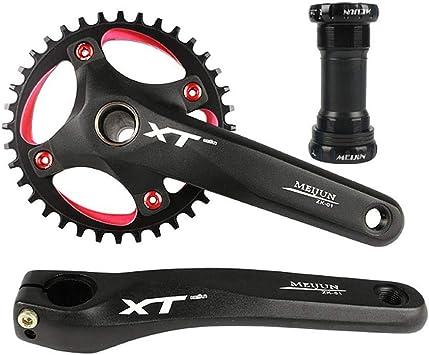 Juego de Bielas 104 BCD para bicicleta de montaña antioxidantes ...