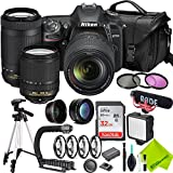 Nikon D7500 DSLR Camera with Nikon 18-140mm Lens and Nikon 70-300mm Lens Starter Combo