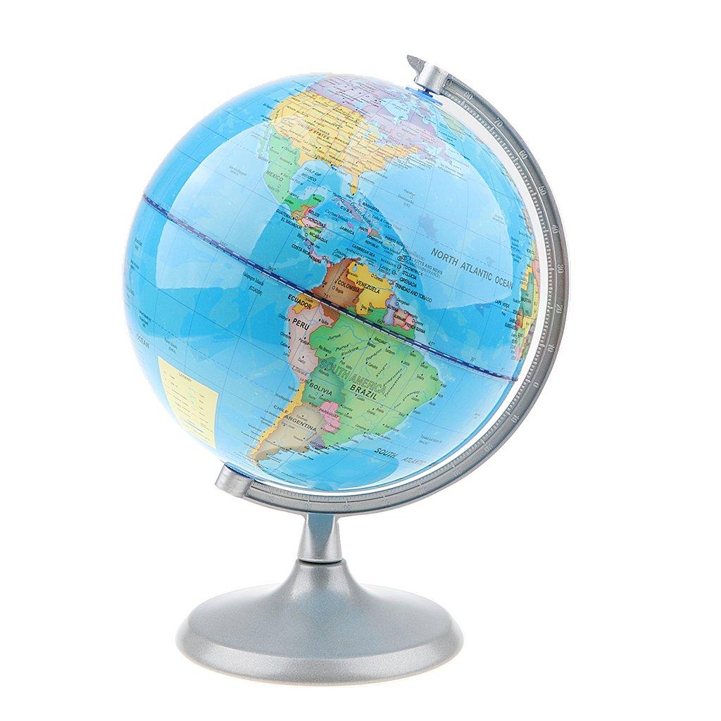Homyl Juguete de Aprendizaje Educativo Esfera de Mundo Geográfico Mapa de Tierra Herramienta de Aprtendizaje de Geografía 20cm - #1: Amazon.es: Juguetes y ...