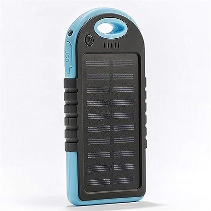 Globents - Cargador Solar portátil de 30000 mAh con batería ...