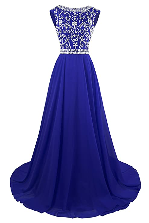 Review MsJune Long Prom Dresses