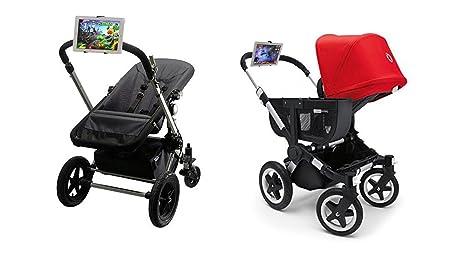 Soporte compatible con iPad carrito bebe soporte universal negro: Amazon.es: Electrónica
