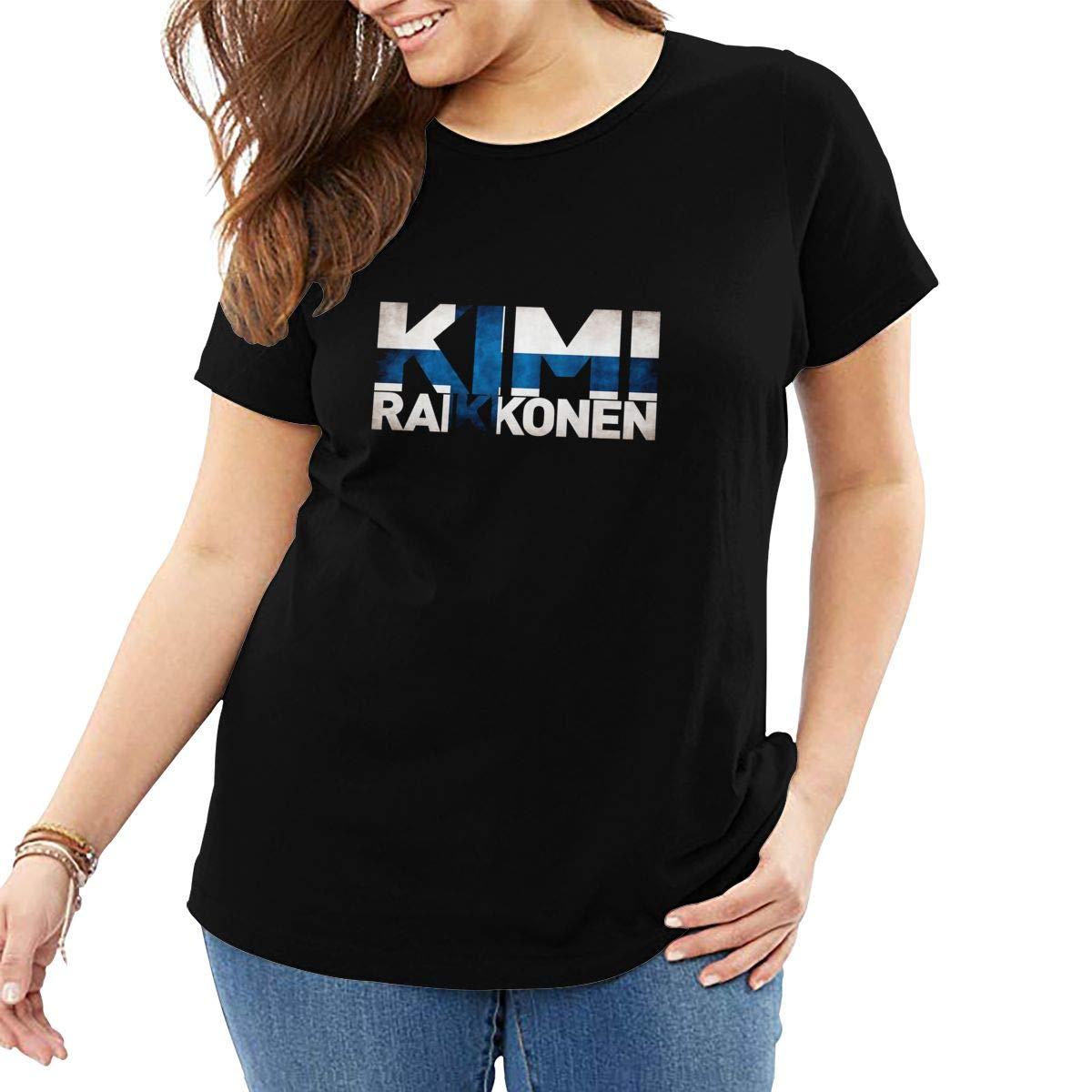 Kimi Rkonen F1 Plus Big T Shirt For Fat