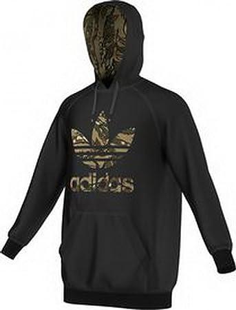buy popular 552c7 18fae adidas Men's City Camouflage Trefoil Hoodie Sweatshirt