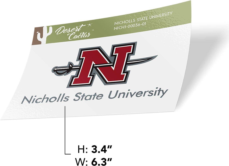 Nicholls State University Colonels NCAA Vinyl Decal Laptop Water Bottle Car Scrapbook Sticker - 00036