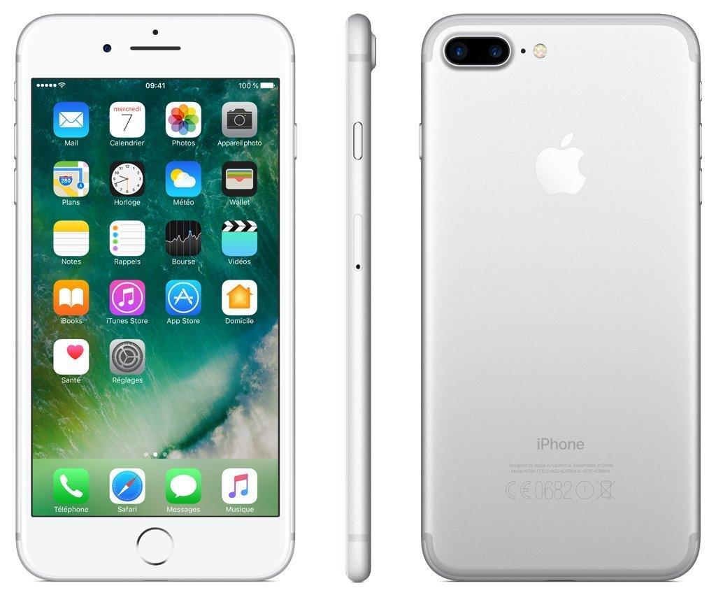 9e64dc1acf9 Apple iPhone 7 Plus Smartphone Libre Plata 32GB (Reacondicionado):  Amazon.es: Electrónica