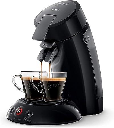 Philips SENSEO Original HD6554/61 - Cafetera monodosis con tecnología Coffee Boost y Crema Plus, selección de intensidad, color negro: Amazon.es: Hogar
