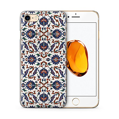 Iznik Muster Orientalisch #04 Hülle für iPhone 7 SLIM Hardcase Schutz Cover Case Handyhülle Design Orient