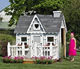 Little Cottage Company Victorian DIY Playhouse Kit, 4' x 6'