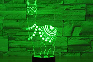 3D Cat Night Light Table Desk Optical Illusion Lamps 7 Color Changing Lights LED Table Lamp Xmas Home Love Brithday Children Kids Decor Toy Gift