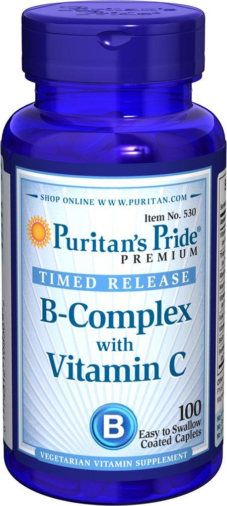 複合ビタミンB B-コンプレックス(タイムリリースビタミンC配合) B009OXFWLG