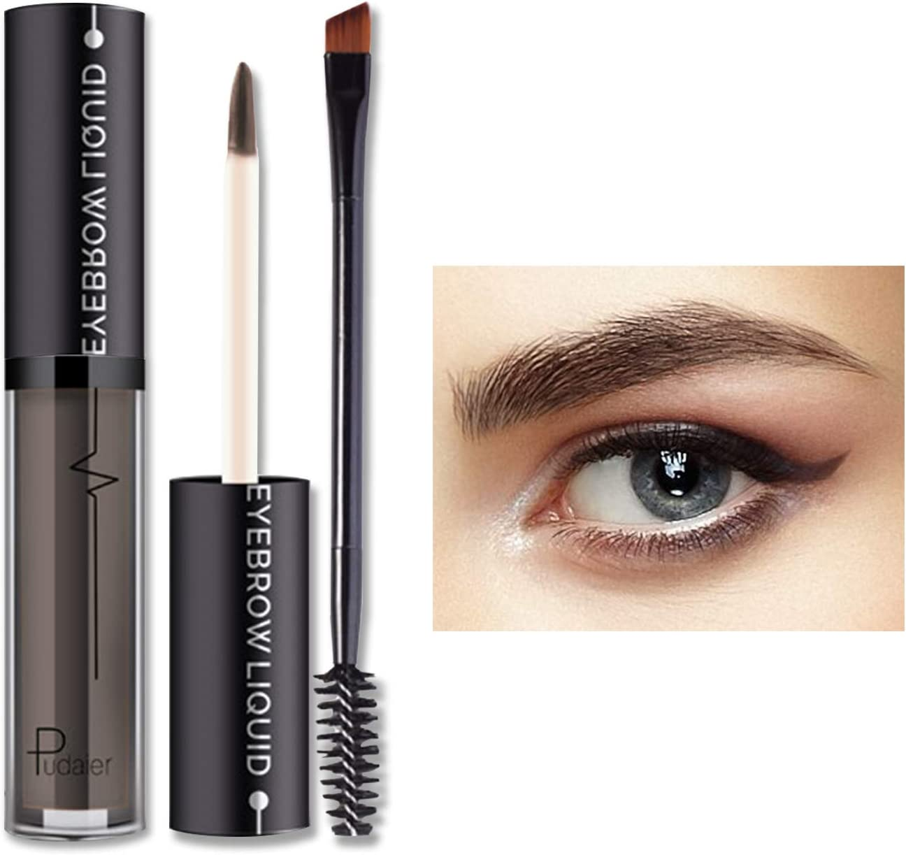 ONLYOILY Gel de Cejas -Tintes para Cejas de Maquillaje Natural Colores de Cejas en Crema Geles Líquido para Cejas (04)