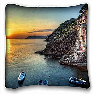 Custom Characteristic Nature Custom Cotton & Polyester Soft Rectangle Pillow Case Cover 16x16 inches (One Side) suitable for X-Long Twin-bed