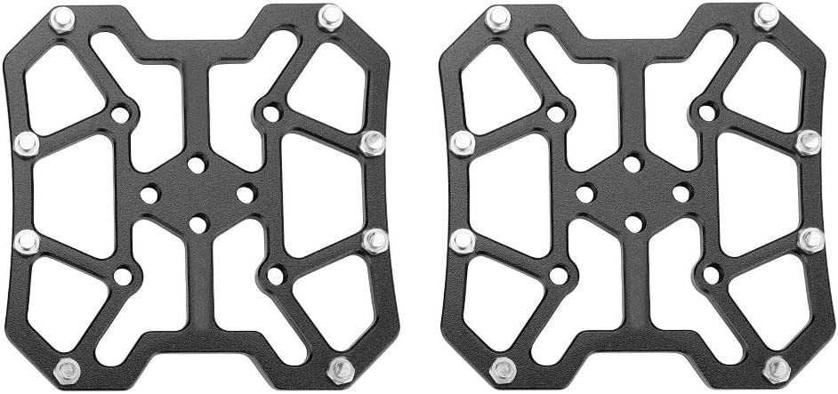 Aluminum Alloy Bike Clipless Clip-in Platform Pedal Adapters for SPD VGEBY1 1 Pair Bike Pedal Adapter