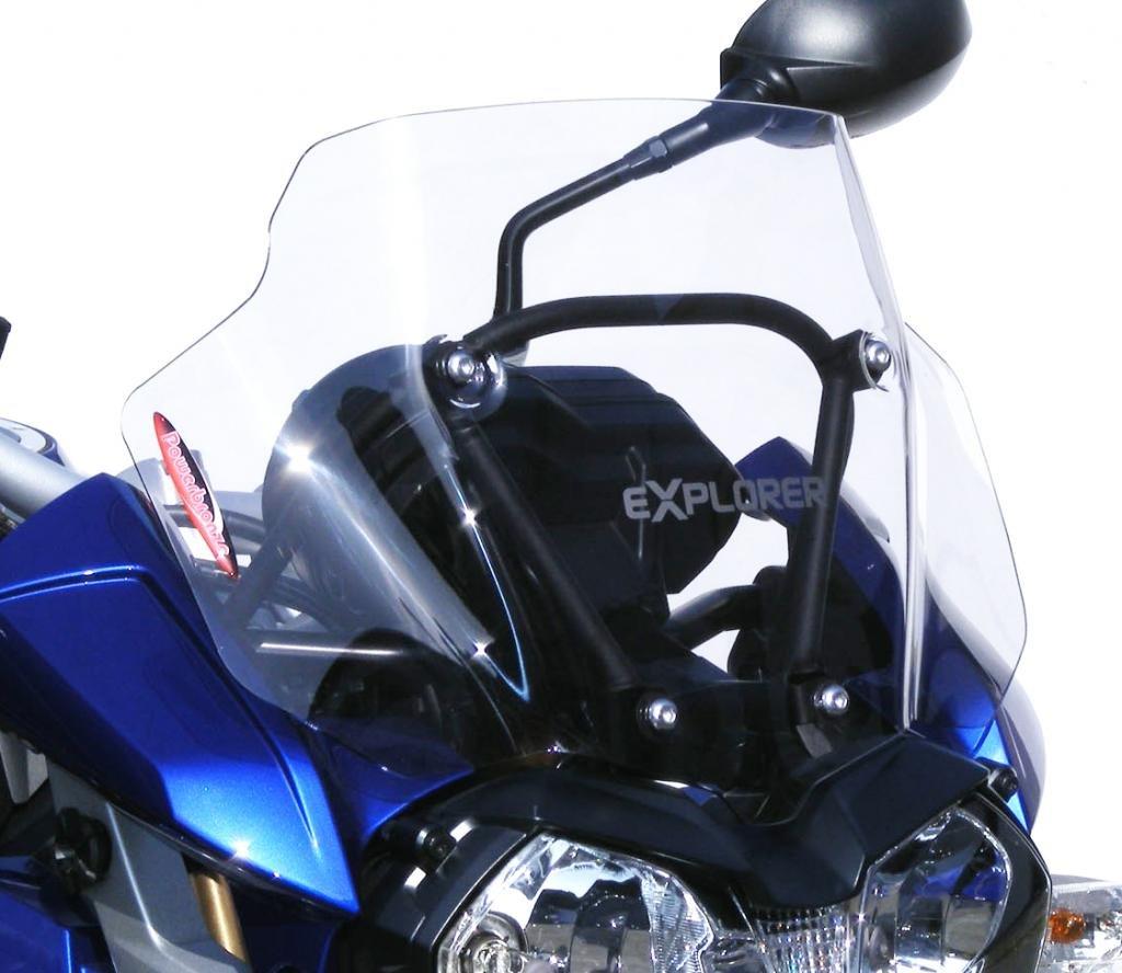 Powerbronze 460-T103-001 Adventure Sports Screens to fit Triumph Tiger 1200 Explorer and Tiger 1200 Explorer XC (300mm) Light Tint