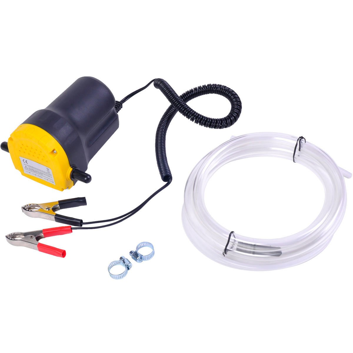 12V 5A Oil/Diesel Fluid Extractor Electric Transfer Pump For Car/Motorbike by SNC (Image #2)