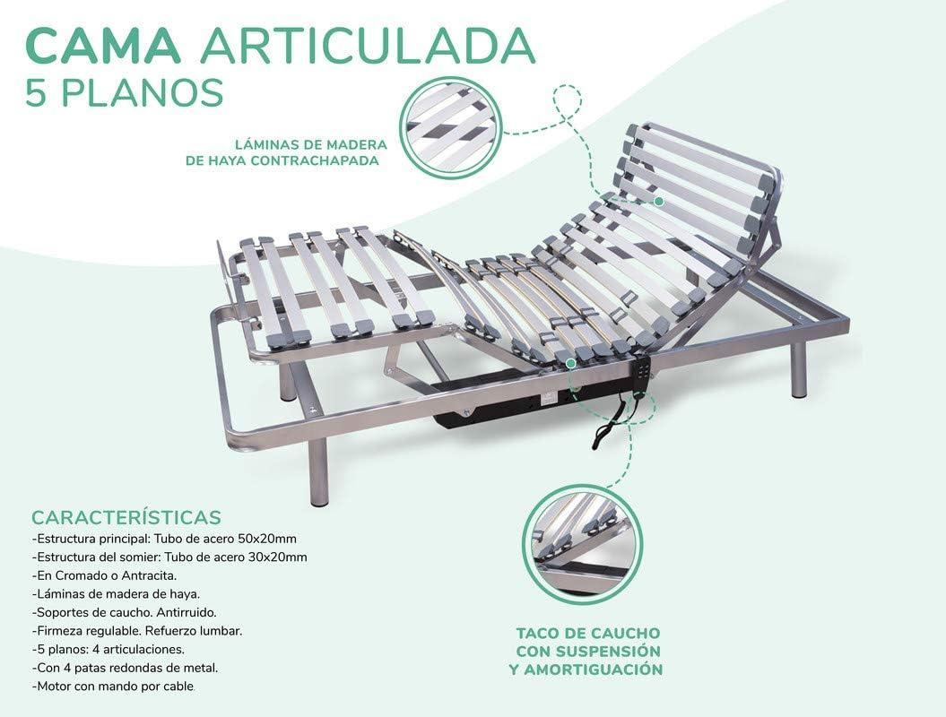 Cama Articulada Eléctrica 90x190 cm Dreaming Kamahaus