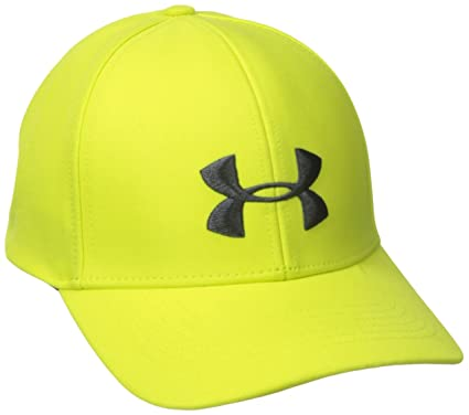 yellow under armour hat