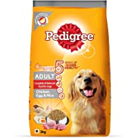 Pedigree Adult Dog Food (High Protein Variant) – Chicken, Egg & Rice, 3 Kg