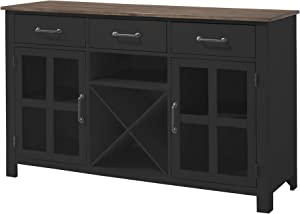 Lane Home Furnishings A la Carte Storage Cabinet, Black