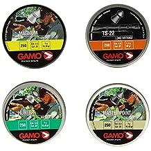 Gamo 63209275554 Combo Pack Assorted Pellets .22 Caliber, Black