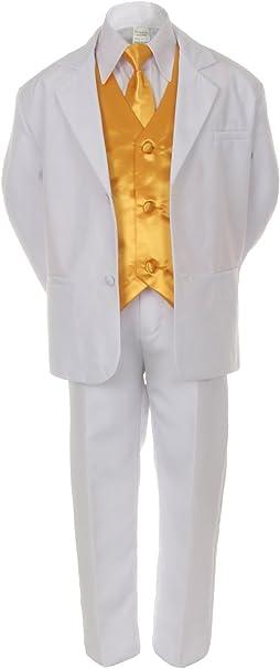 Amazon.com: 7 piezas de chaleco amarillo, corbata de cuello ...