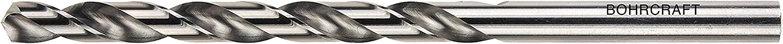 Bohrcraft Spiral Drill Bit DIN 340/HSS-G Ground Split Point Type N 10.0/mm in Quadro Pack 1/Pack of 13500101000