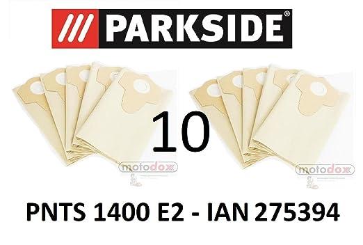 10 bolsas de aspiradora Parkside 30 L pnts 1400 E2 Lidl Ian 275394 ...