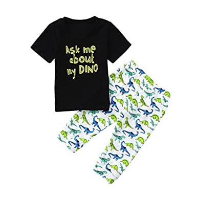 393cd81009de Amazon.com  Pollyhb Baby Boys Girls Clothes Set