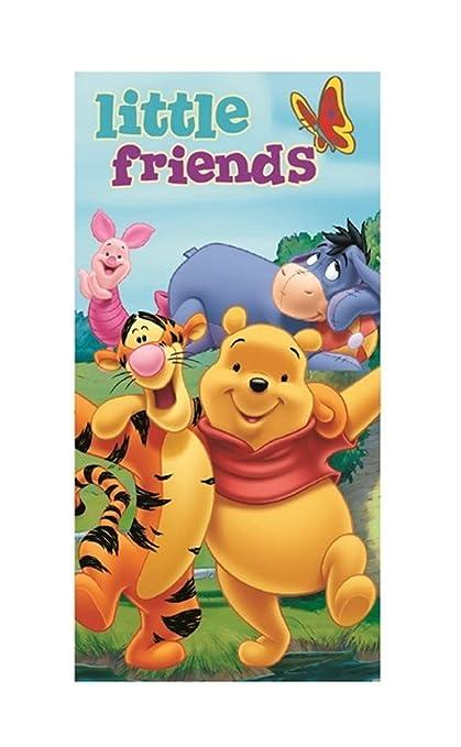 Disney WinIE The Pooh – Idea de Regalo para Niños – Mano Toalla de baño/