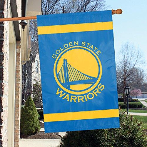 Arizona State Applique Banner - Official National Basket Association Fan Shop Authentic NBA Team Sports Man Cave Spirit Flag - Banner (Golden State Warriors)