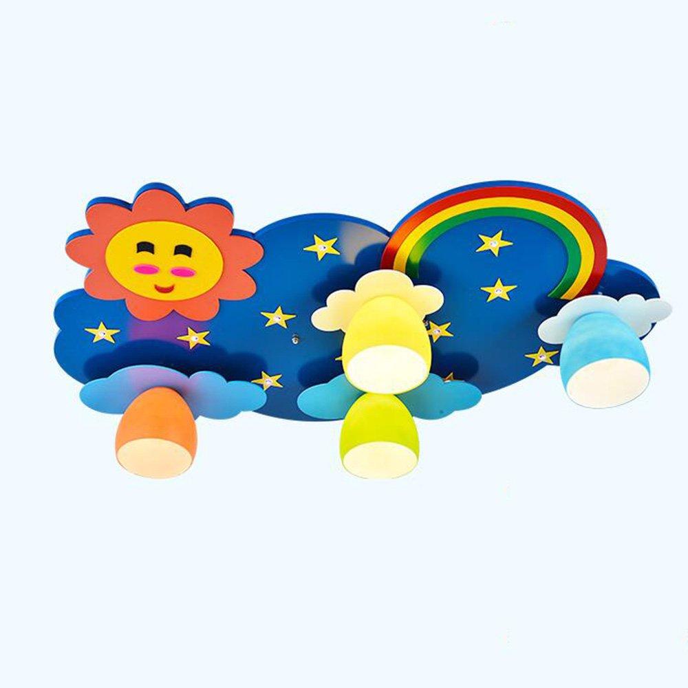 Unbekannt Kinderzimmer Deckenlampe/kreative Persönlichkeit Trend Lampe/niedliche kreative Lampe (Farbe : Remote Control)