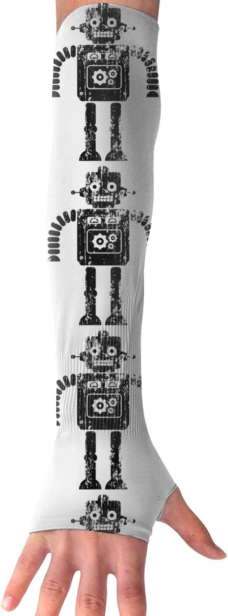WAY.MAY Robot Vintage Sun...