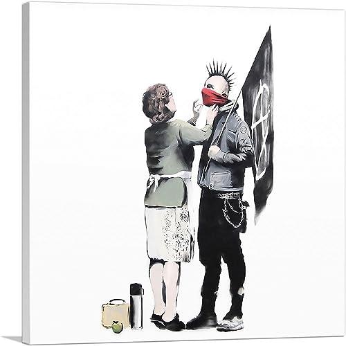ARTCANVAS Anarchist and Mother
