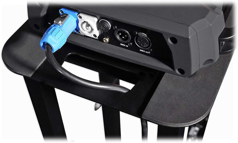 1 Rockville RTP32B Totem Style DJ Speaker Stand+Black+White Scrims+Carry Bag