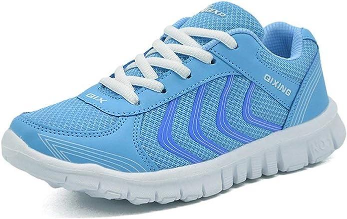 Zapatillas Deporte Hombre Mujer Zapatos para Correr Running Zapatos Aire Libre y Transpirables Casual Zapatos Gimnasio Correr Sneakers EU35-47: Amazon.es: Zapatos y complementos